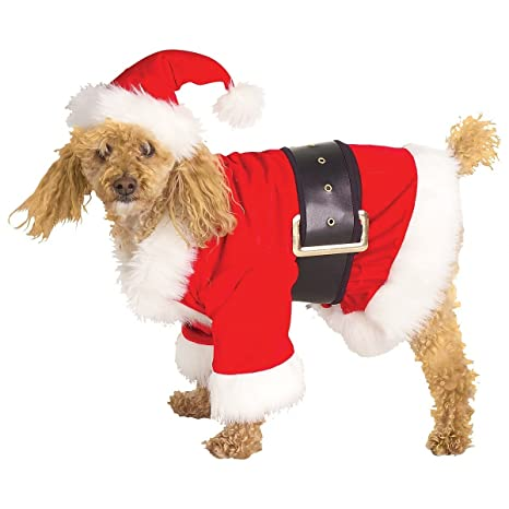santa dog costume - Large Dog Christmas Outfits
