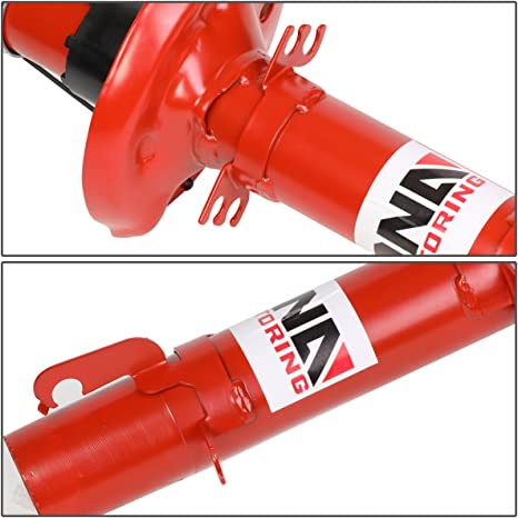 FOR 98-10 VW BEETLE//GOLF//JETTA CITY RED FRONT GAS SHOCK ABSORBER//STRUT ASSEMBLY