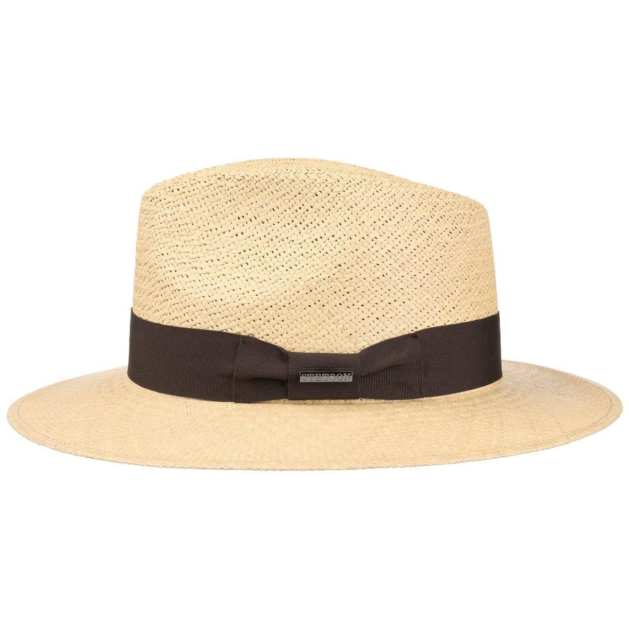 0c6fc732e7c Stetson Grady Panama Traveller Straw Hat Summer Sun  Amazon.co.uk  Clothing