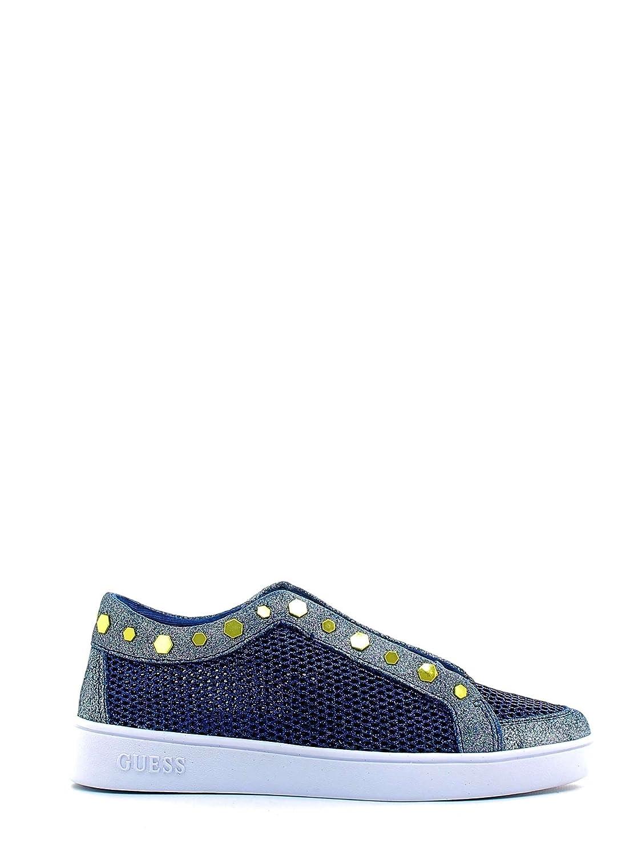 Guess Gisela, Zapatillas de Tenis para Mujer 37 EU Azul