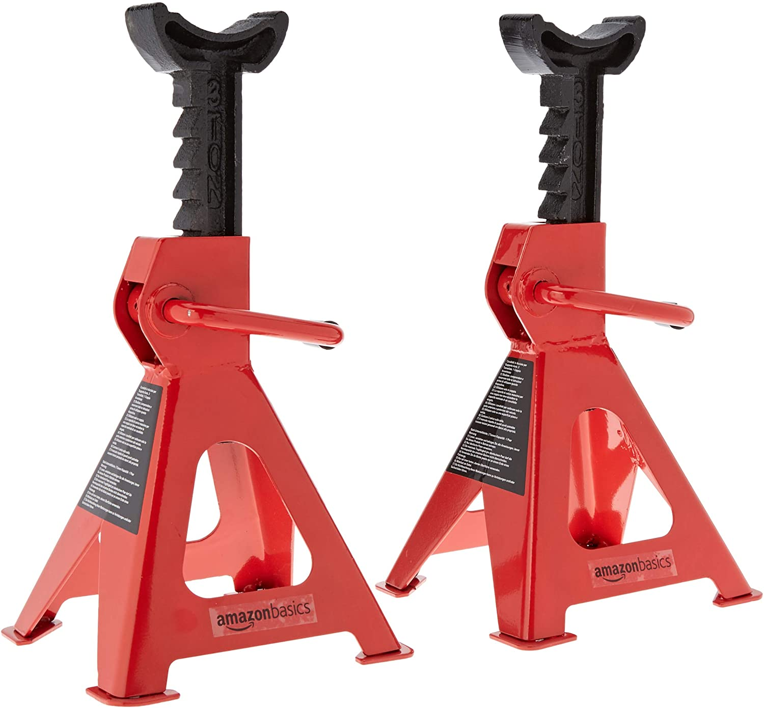Steel Jack Stands with 3 Ton Capacity 1 Pair