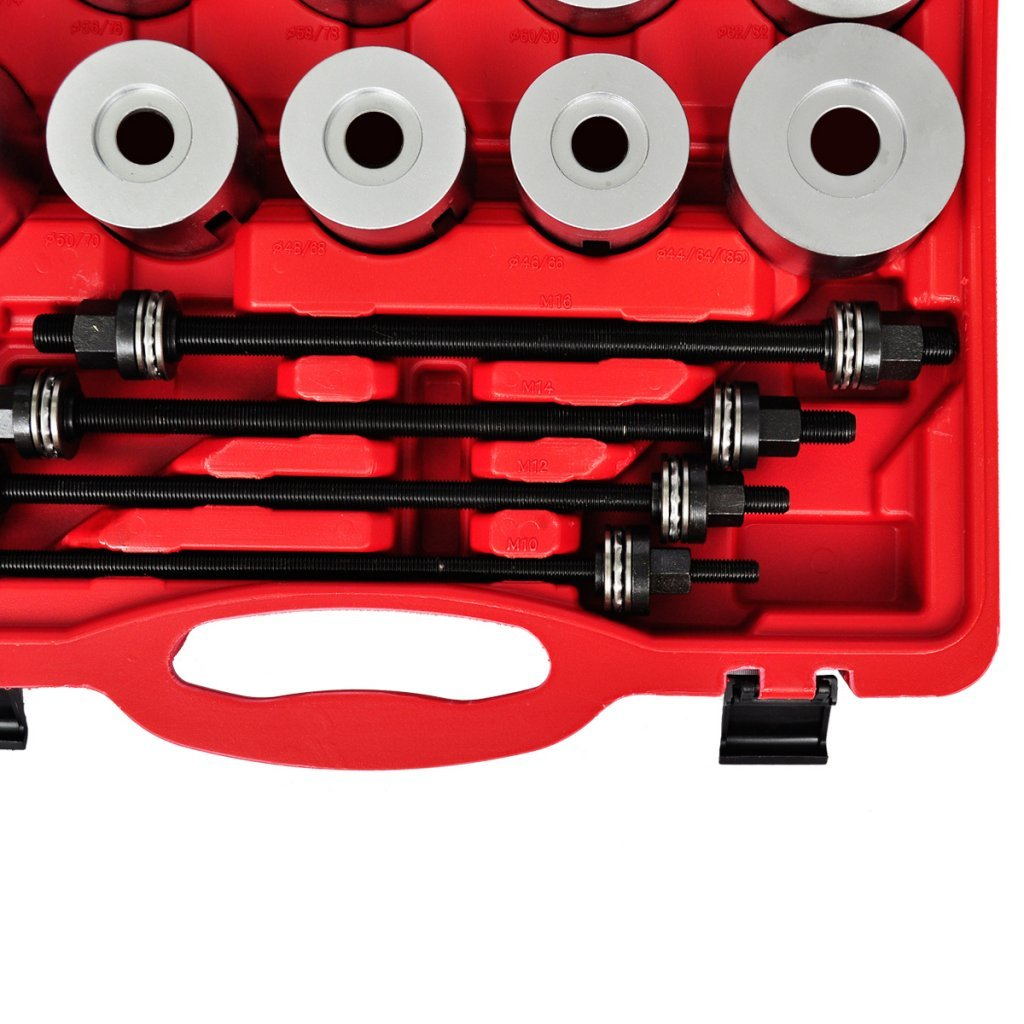 Anself 27pc Press Pull Sleeve Kit Bush Bearing Removal Insertion Tool Set by Anself (Image #4)