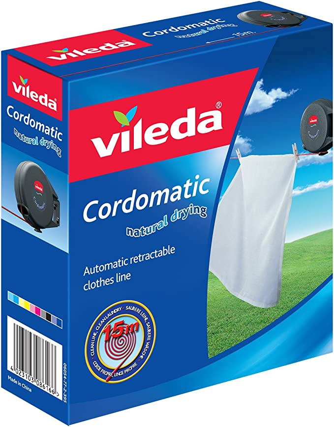 Vileda Cordomatic Retractable Clothes Line - Cheap and Durable