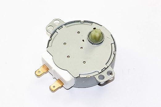 Sharp microondas giradiscos Motor Parte Número rmotda253wrz1 ...