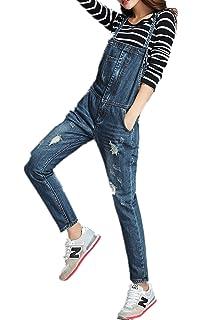 ee448684ca87 Skirt BL Women Fashion Plus Size Skinny Blue Strecthy Jeans Romper Denim  Overall