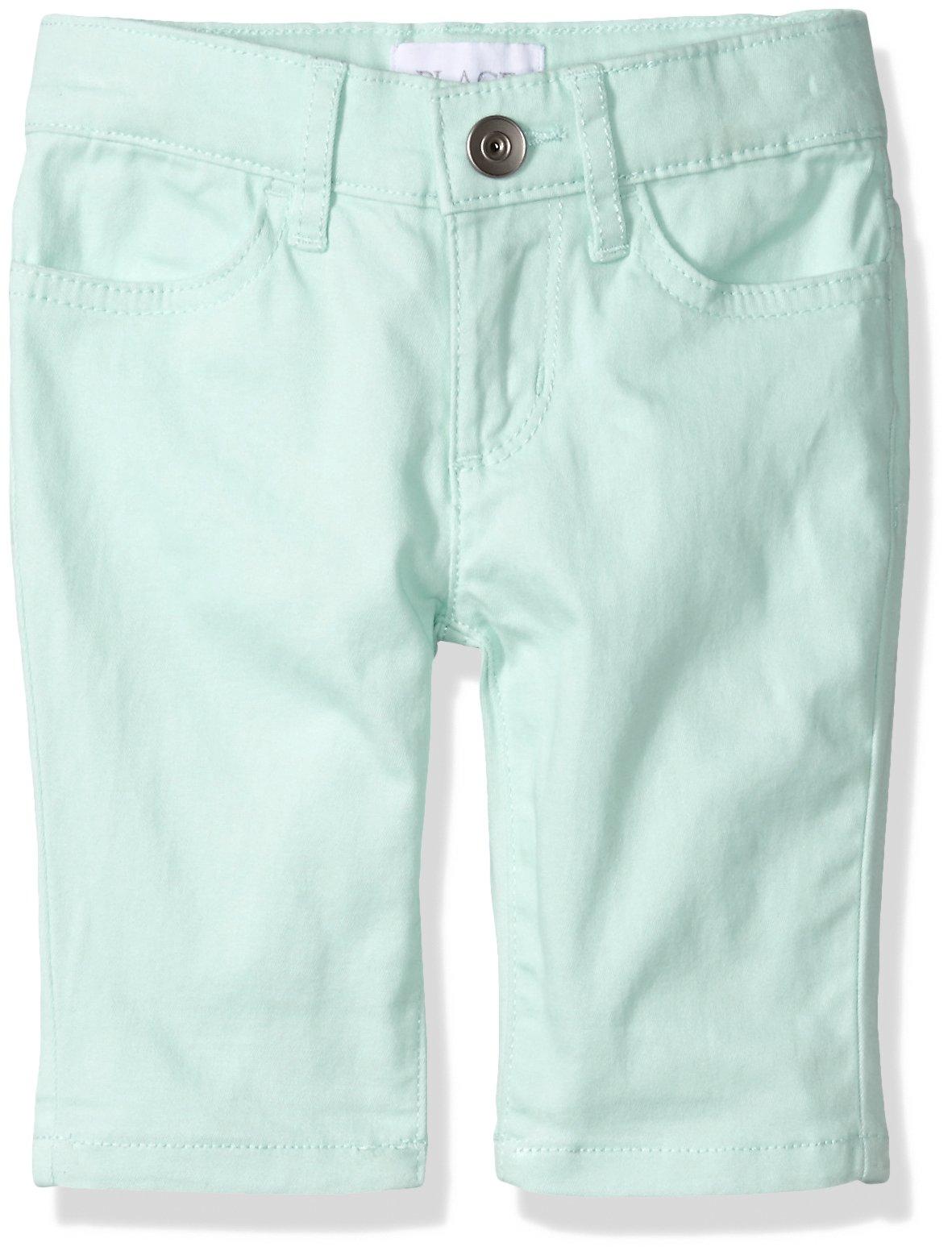 The Children's Place Big Girls' Skimmer Shorts, Glade Green 9913, 8S