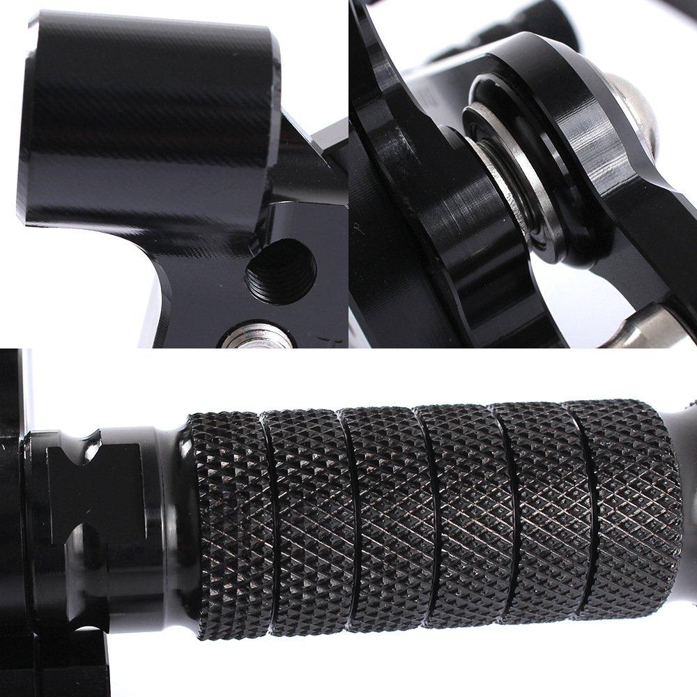 ETbotu Motorcycle CNC Aluminum Footpegs Rearset Elevated Assembly for Motorbike DAYYONA675R06-12 by ETbotu (Image #5)