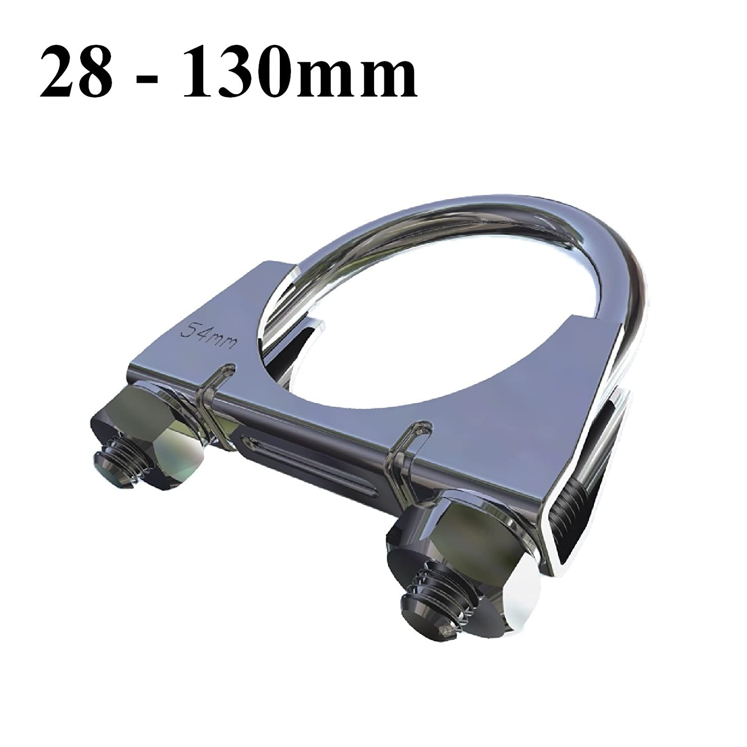 Universal U Bolt Clamp Heavy Duty Exhaust Clamps 64mm TV Sky Aerial Pipe