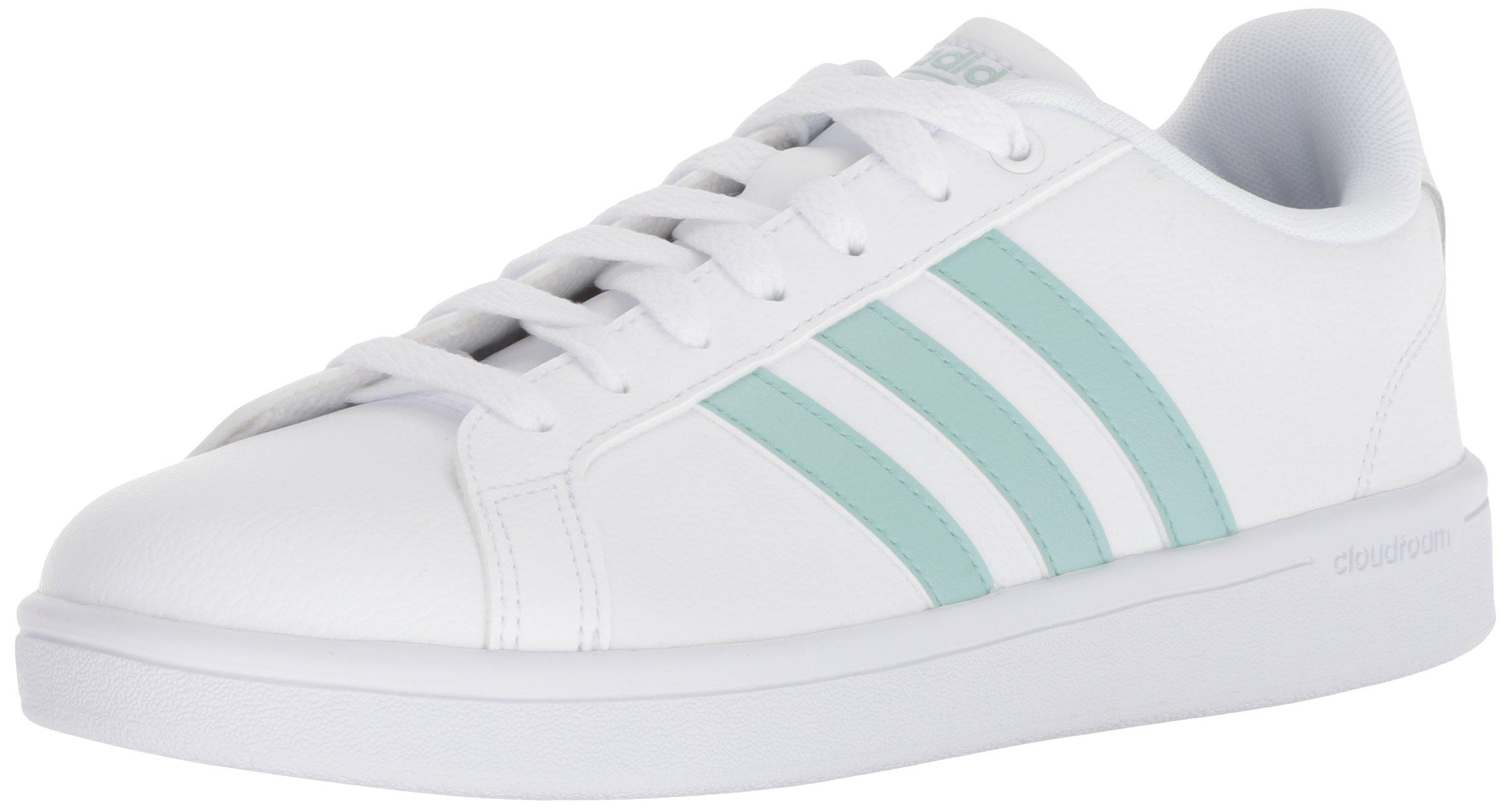 adidas Women's Cf Advantage Sneaker White/ash Green/Light Granite 6 M US