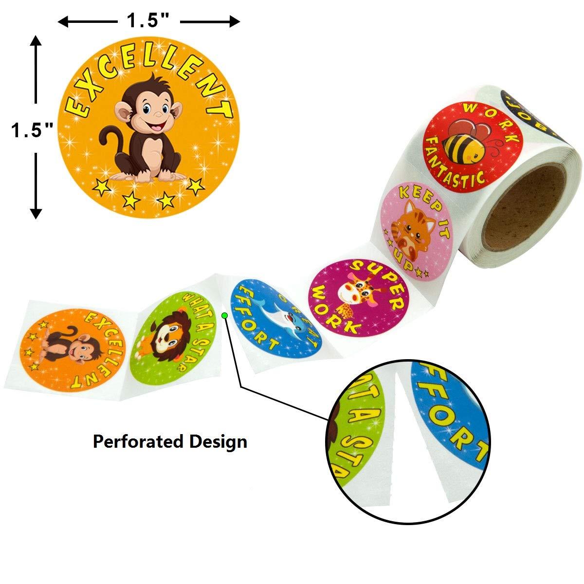 Graduation Stickers Grad Party Favor Decorations 200Pcs Per Roll Fancy Land