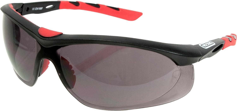 OREGON 572797 gafas de seguridad con protección contra Impact (EN166), filtro UV (en170) y filtro Solar (en172)
