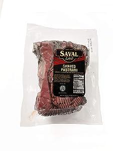 Saval Deli Sliced Pastrami Brisket - 2 lb.