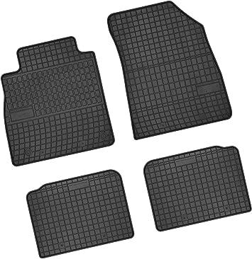 Bär Afc Ni61529 Gummimatten Auto Fußmatten Schwarz Erhöhter Rand Set 4 Teilig Passgenau Für Modell Siehe Details Auto