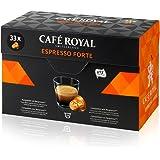 Café Royal Espresso Forte - 33 Capsules Compatibles avec le Système Nespresso*