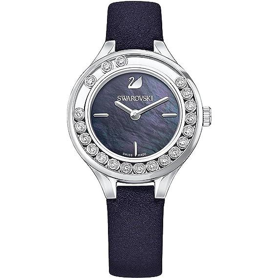 SWAROVSKI RELOJ DE MUJER CUARZO CORREA DE CUERO GENUINO CAJA DE ACERO 5242898: Amazon.es: Relojes