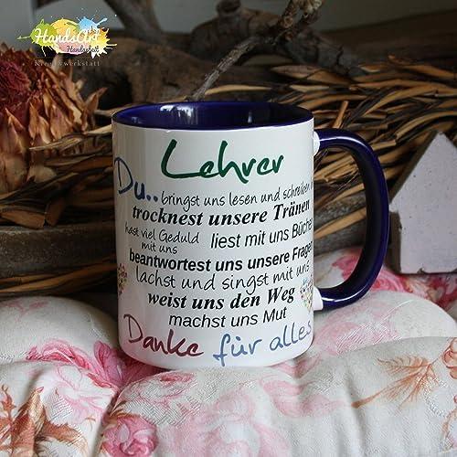 Lehrerin Weihnachten Geschenk Küche Haushalt Kaffeebecher