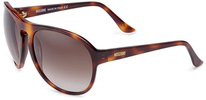 Moschino Women s MO62402 LUNETTES DE SOLEIL MOSCHINO Wrap Sunglasses, Brown  - Brown 4948c0d68866