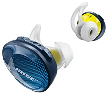 bose truly wireless earbuds. bose soundsport free truly wireless sport headphones - midnight blue / citron earbuds s