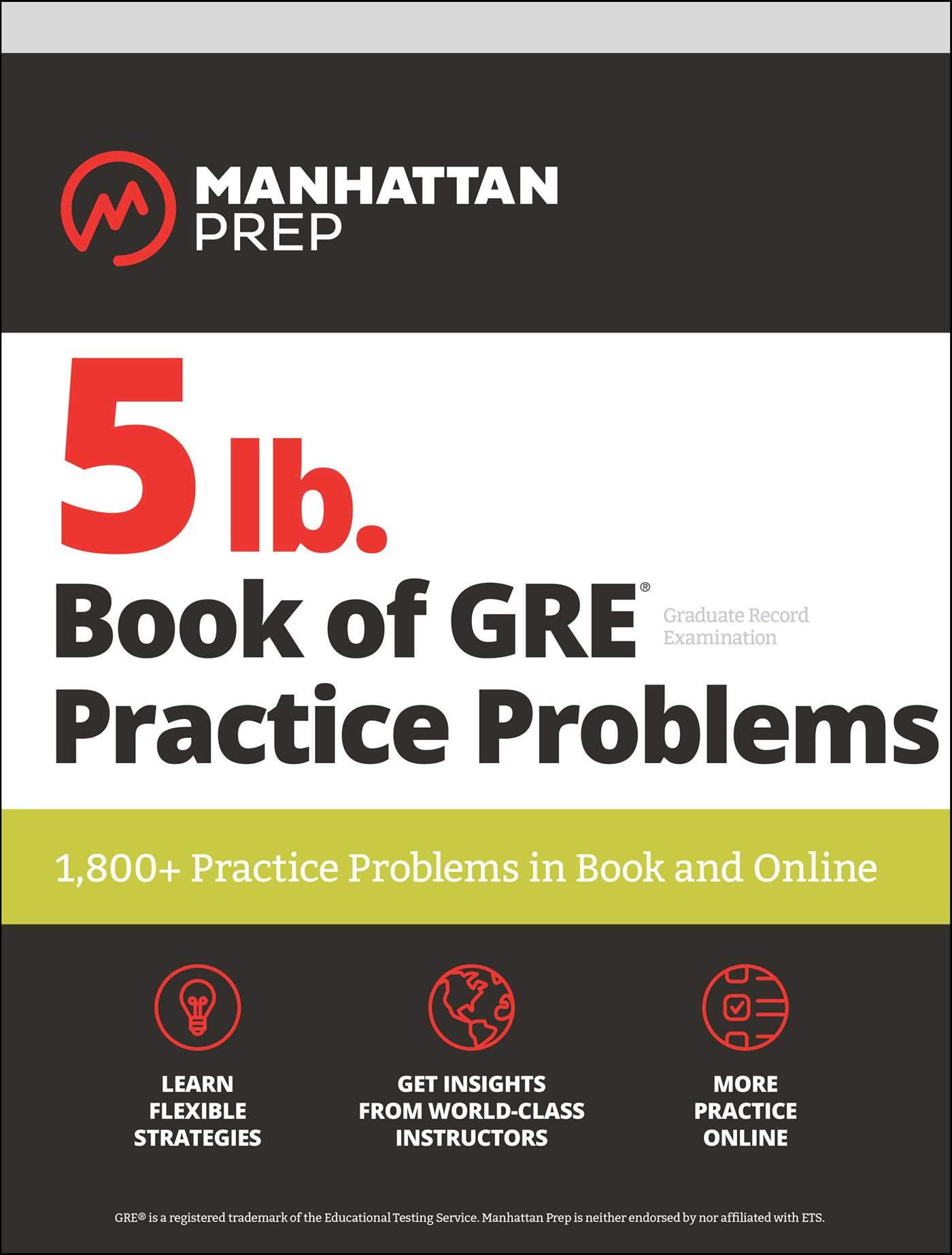 lb Book GRE Practice Problems product image
