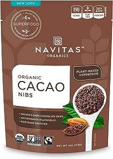product image for Navitas Organics Raw Cacao Nibs, 4 oz. Bag, 4 Servings — Organic, Non-GMO, Fair Trade, Gluten-Free