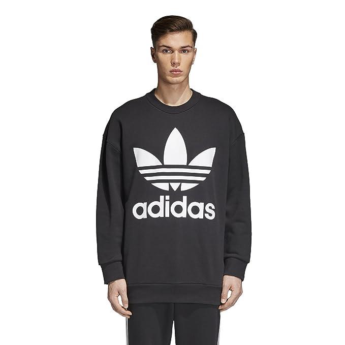 adidas Herren Trefoil Oversize Crew Sweatshirt