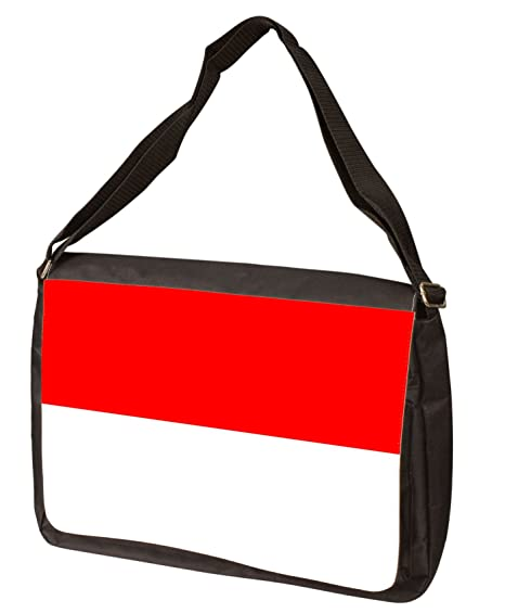 Amazon.com  Indonesia Flag Messenger Bag - Shoulder Bag - Laptop Bag ... fe19d9e324dd