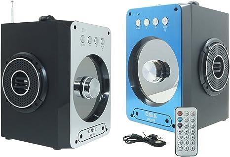 Amplificador Altavoz Bluetooth Radio FM SD USB MP3 Smartphone ...