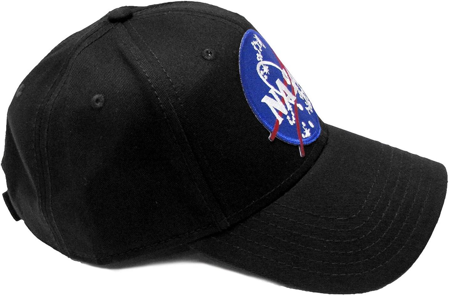 Project T NASA Official Emblem Insignia logo patch trucker mesh back caps hats