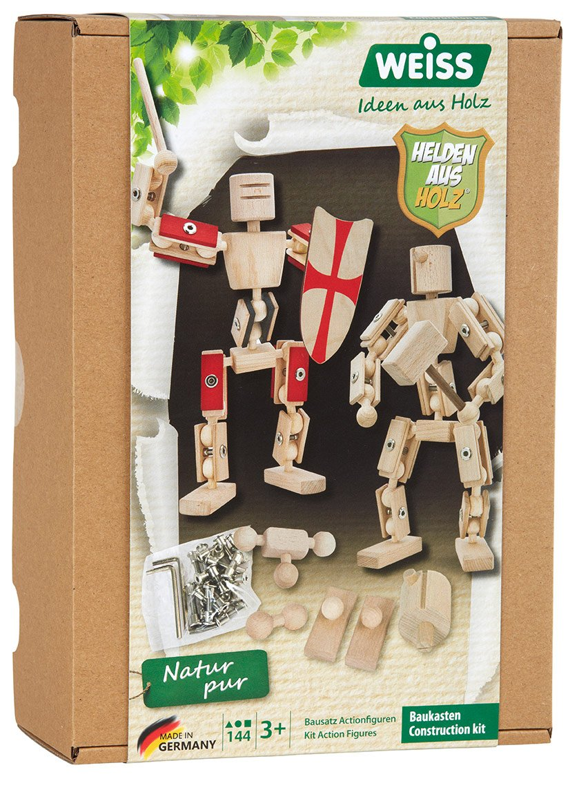 rewoodo Helden aus Holz - Holz Actionfiguren