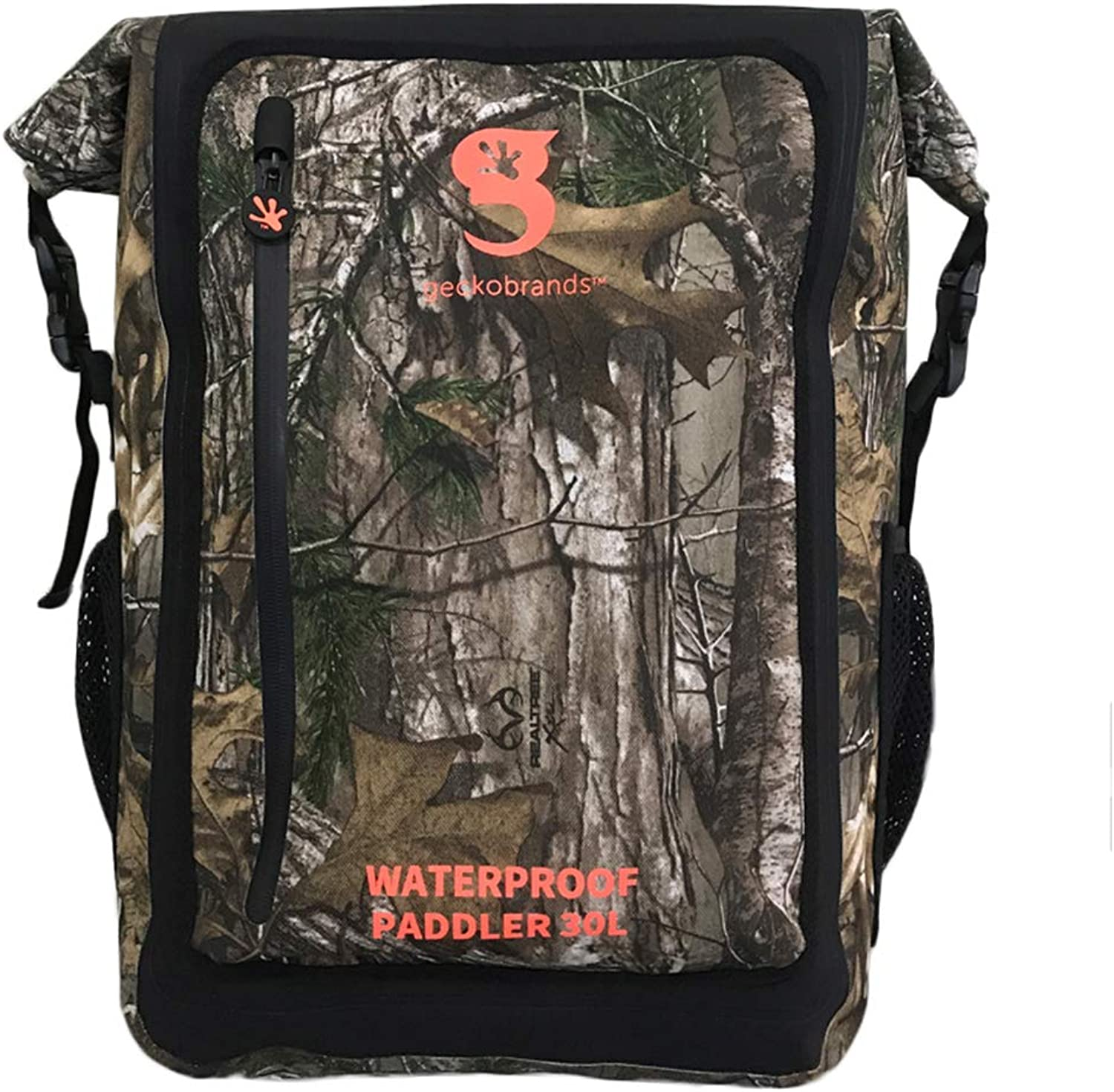 geckobrands Paddler 30L Waterproof Backpack, Available in 7 Colors