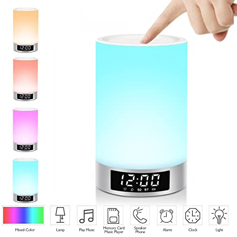 LED Speakers,Multi-function Portable Wireless Bluetooth LED Neon