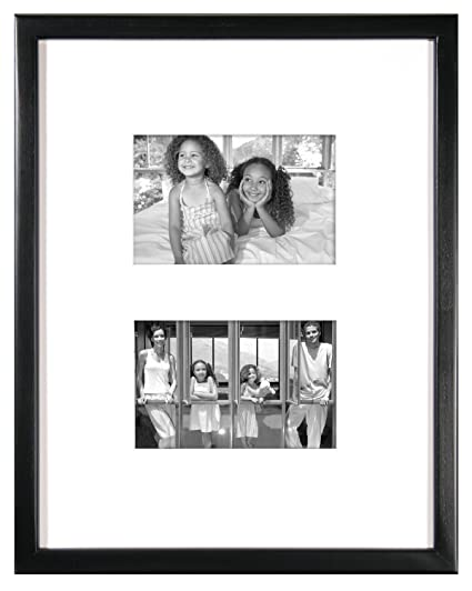 Amazon.com: MCS 11x14 Inch East Village Collage Frame with 2-4x6 ...