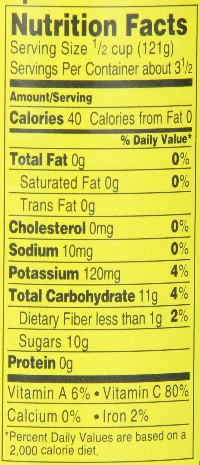 Del Monte No Sugar Added (Artificially Sweetened) Fruit Cocktail (3 Pack) 14.5 oz Cans by Del Monte (Image #2)