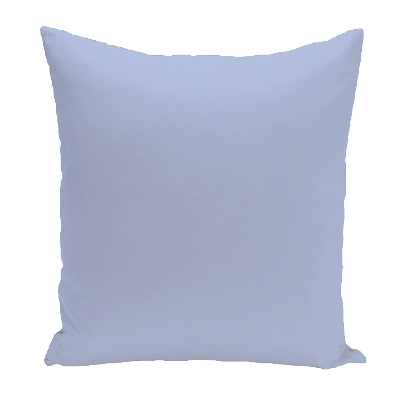 E by design Solid Pillow, Peri Blue