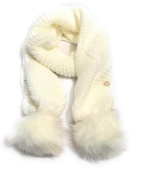vendita limitata moda in vendita sciarpe guess con pon pon