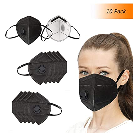7 Work respirator Protection Mouth Layer Unisex Disposable Black Dust Face For N95 Mask Building Flat Winko With Fold Filter Masks