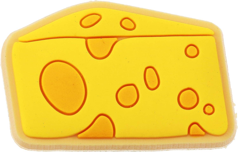 Crocs Jibbitz Food Shoe Charm, Cheese, Small