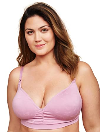28b05d394 Motherhood Maternity Jessica Simpson Plus Size Seamless Clip Down Nursing  Bra - -  Amazon.co.uk  Clothing