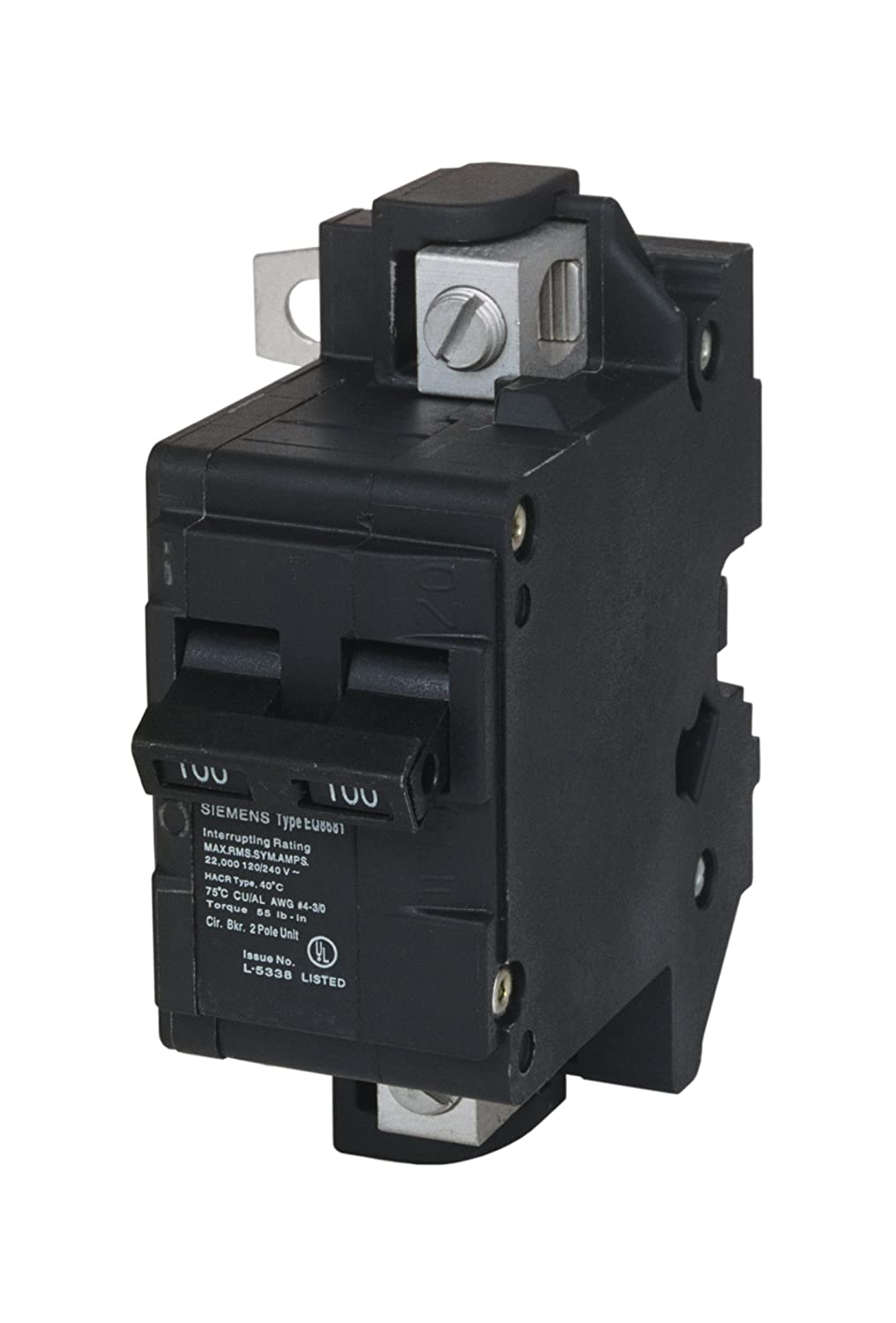 Murray MBK100M 100-Amp Main Circuit Breaker for Use in Rock Solid Type Load  Centers - Ground Fault Circuit Interrupters - Amazon.com