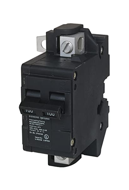 murray mbk100m 100 amp main circuit breaker for use in rock solid rh amazon com Electrical Fuse Box Electrical Fuse Box