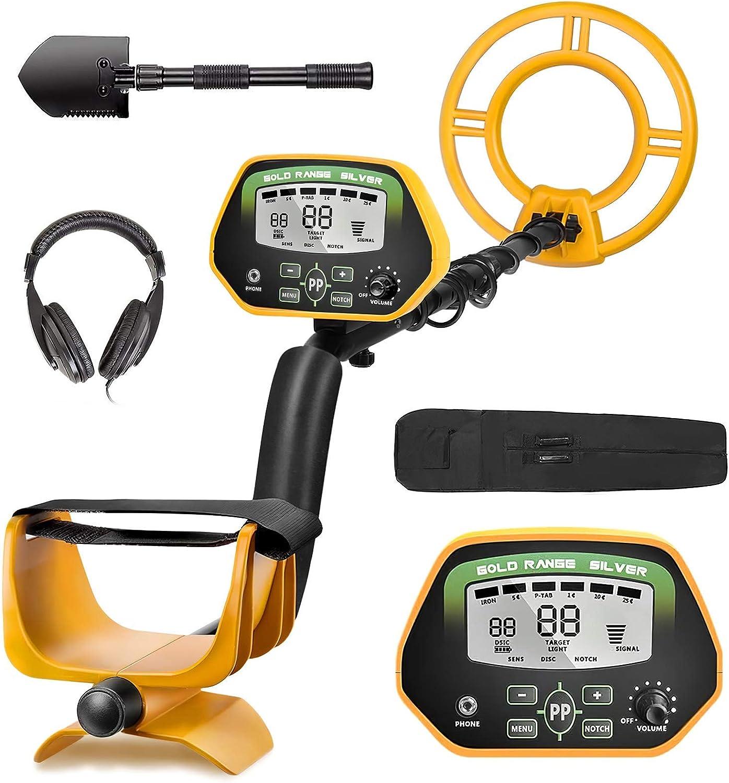 detector de metales ip68 con auriculares RM RICOMAX GC-1037
