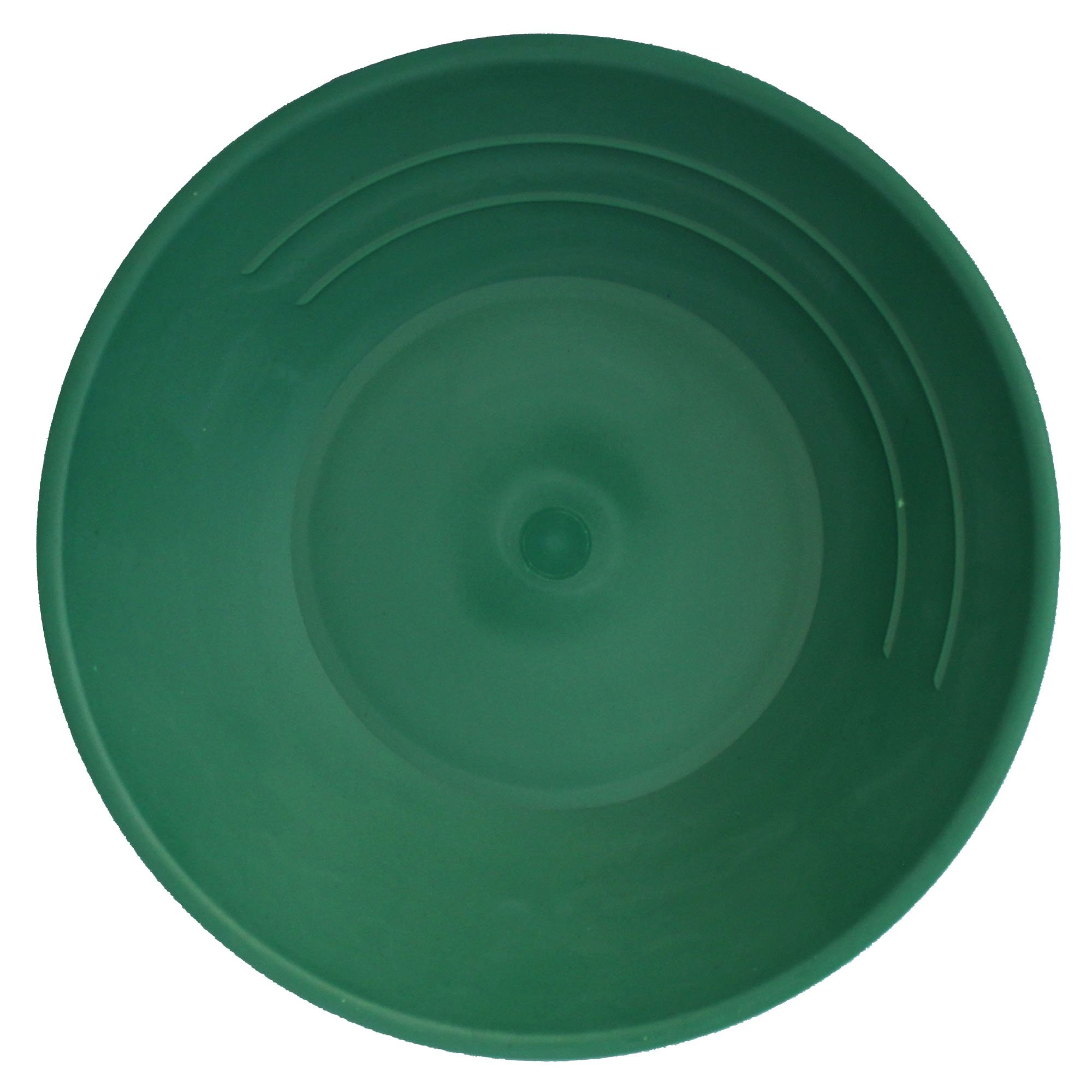 SE GP1001G Fifty (50) Pack 10'' Green Plastic Gold Pan