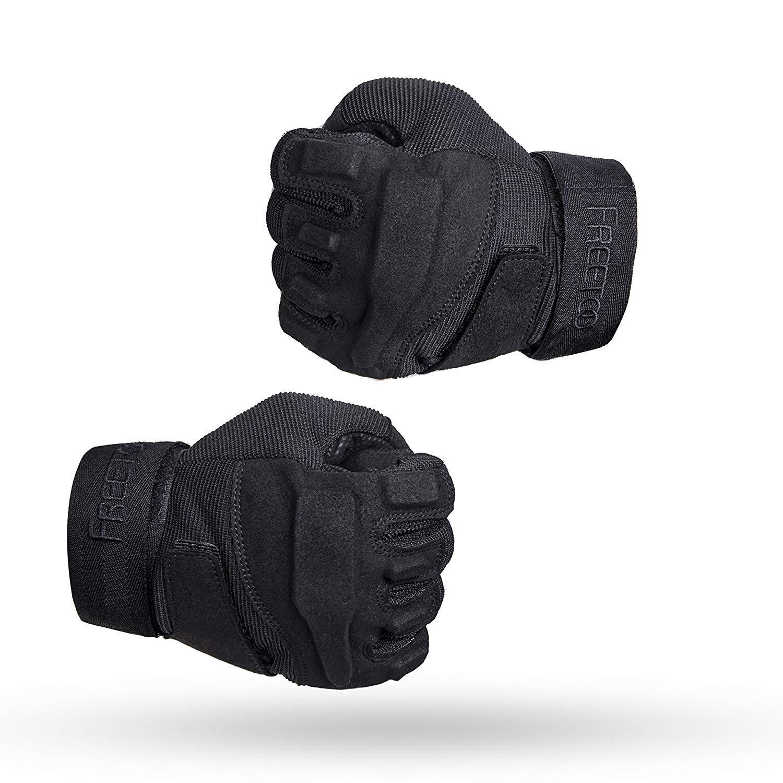 TPRANCE Tactical Gloves for Men, Full Finger Hard Knuckle Gloves for Outdoor Sports by TPRANCE (Image #6)