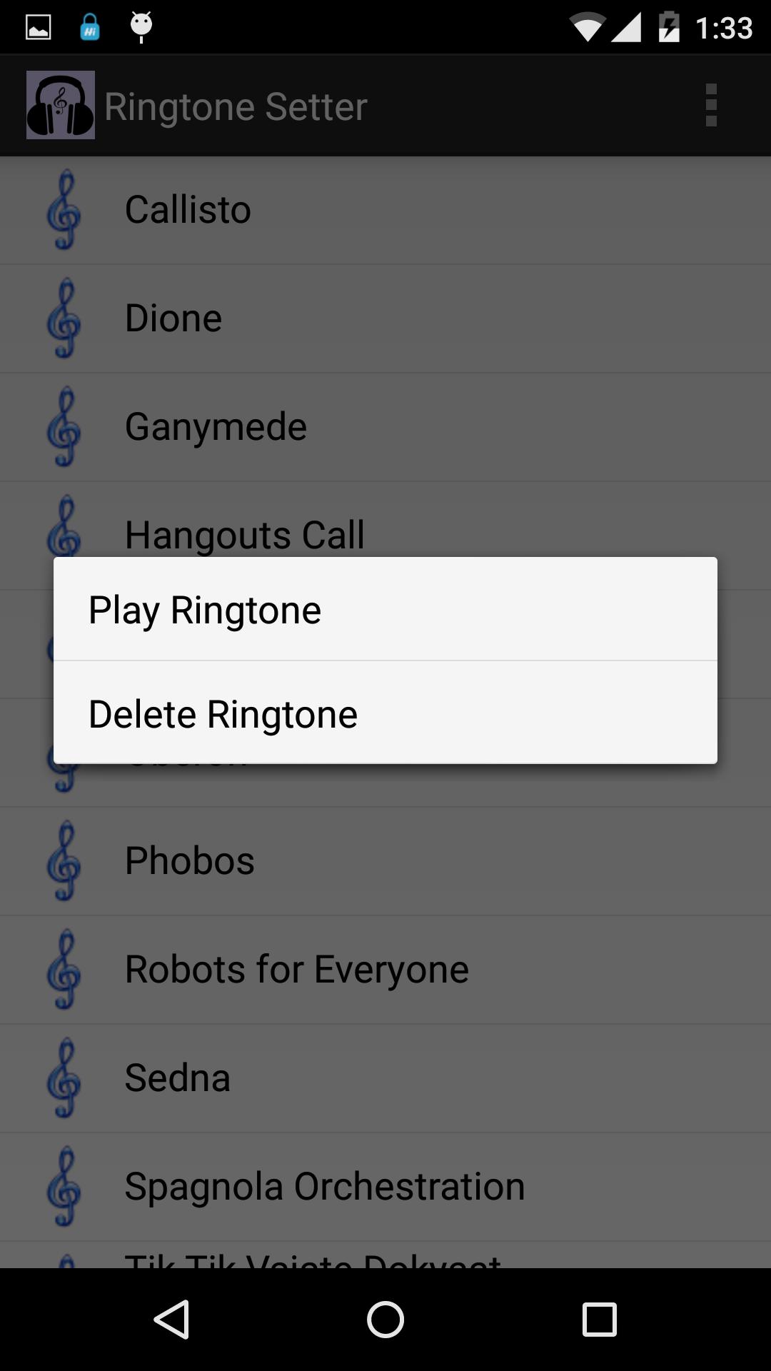 robots for everyone ringtone