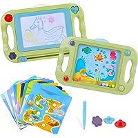 Pizarra Magnética para Niños Tablero de Dibujo Magnético Infantil Tableta Magnética Doble Cara con Equilibrar Pelota…