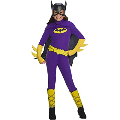 Rubie's Costume Batgirl Dc Superhero Girls Deluxe Child Costume: Toys & Games