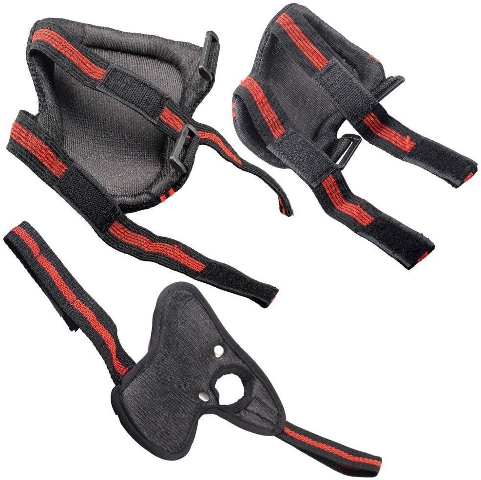 Ciclismo para mu/ñeca Patinaje Codo EONPOW Juego de Protecciones Protector para Deportes Rodilleras 6 Unidades Protecciones contra ca/ídas para Patinaje en l/ínea