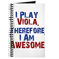 CafePress - I Play Viola - Spiral Bound Journal Notebook, Personal Diary, Lined