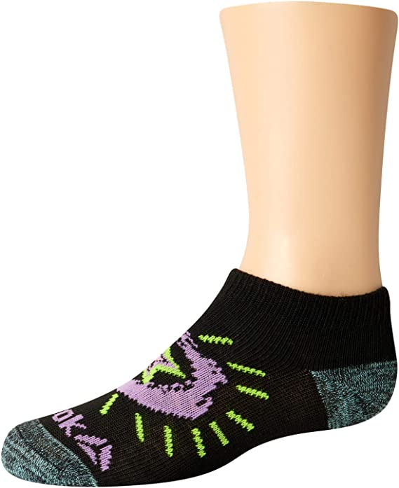 6 Pack Reebok Girls/' Flat Knit Comfort Athletic Low Cut Socks