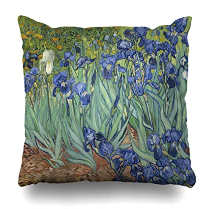 Home Dutch Square Center >> Amazon Com Ahawoso Throw Pillow Cover Square 24x24 Inches Gogh
